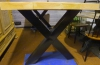 Industriële kruispoot tafel